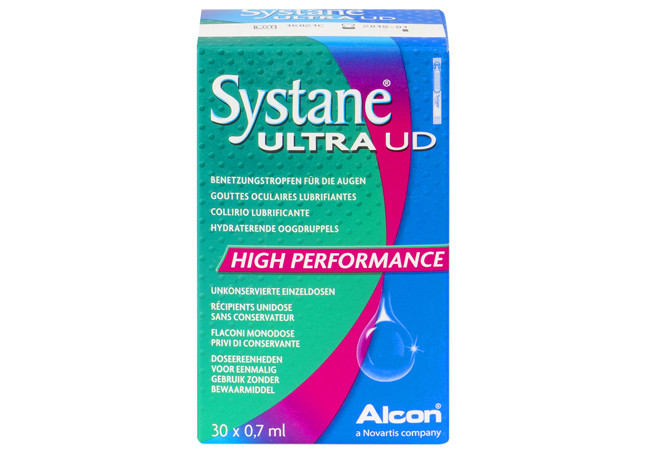 Systane Ultra UD Gouttes Oculaires Lubrifiantes - 30 unidoses