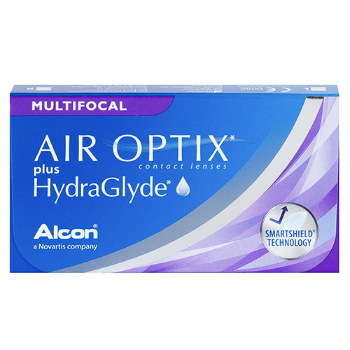 Air Optix Plus Hydraglyde Multifocal (3 lenzen)