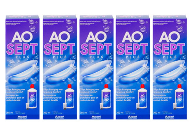 Aosept Plus 5x360ml