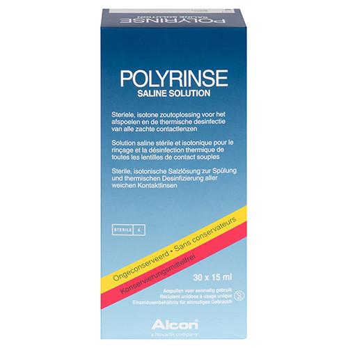 Polyrinse Saline 30x15ml